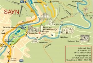 Karte Kulturpark 2016