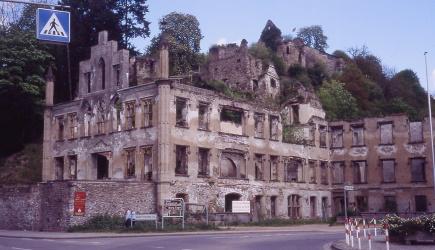 zerstörtes Schloss Sayn