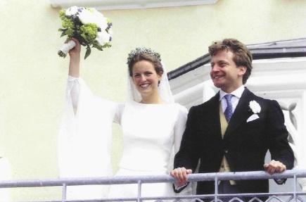 Prinzessin Filippa und Graf Vittorio Mazzetti d'Albertis