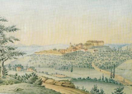 Schloss Hachenburg, 1853
