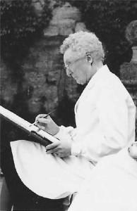 Fürstin Margarete von Thurn und Taxis als Künstlerin