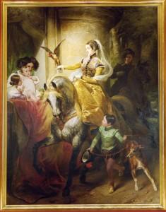 Fürstin Leonilla mit ihrer Familie von Horace Vernet